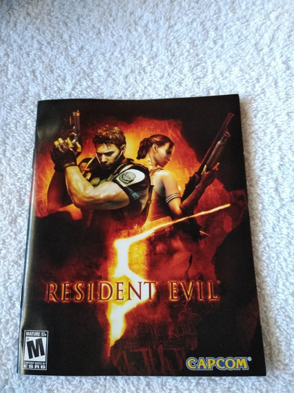 Manual Do Game Resident Evil 5 Ps3 *** Leia