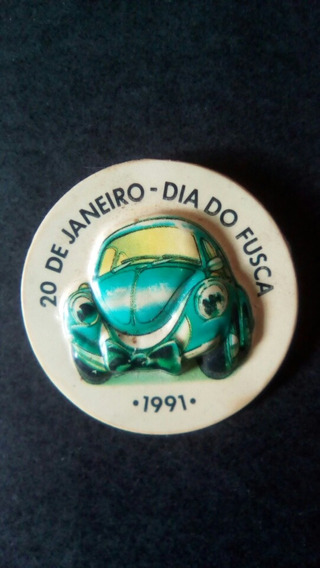 Volkswagen Fusca - Boton Dia Do Fusca 1991