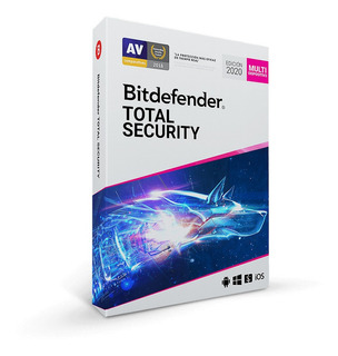 Bitdefender Antivirus Total Segurity Licencia 2,6 Años 1 Pc