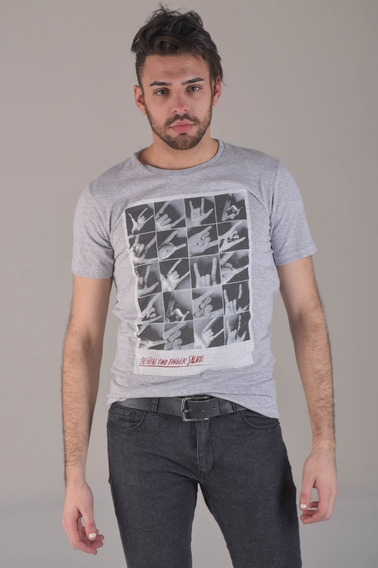 Remera Mc Salute Hombre Remeras Soho Denim