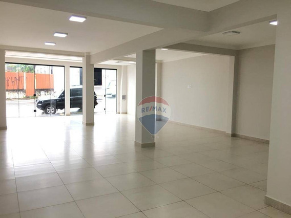 Salão Para Alugar, 160 M² Por R$ 3.000/mês - Centro - Nova Odessa/sp - Sl0032