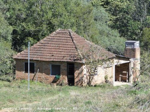 Área Rural Para Venda Em Mariana Pimentel, Passo Da Mônica - 1234_1-433954