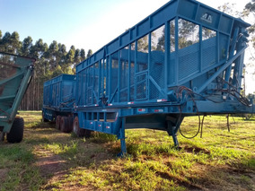 Canavieiro Cana Picada Transbordo Conjunto Plantio De Cana