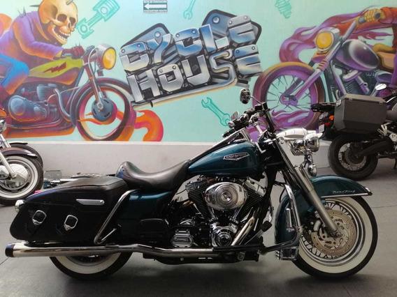 Harley-davidson 1450 Road King Classic Titulo Limpio Checa