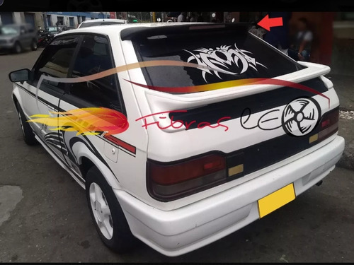 Spoiler Mazda Coupe Parte Alta Y Baja