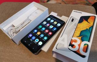 Samsung A30 32gb .como Nuevo. Con Funda Y Vidrio