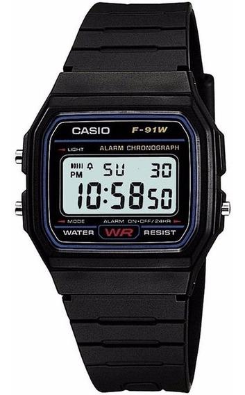 Reloj Original Caballero Marca Casio Modelo F91w1x