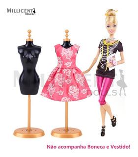 Manequim De Roupas Para Boneca Barbie Susi Disney Pullip Etc