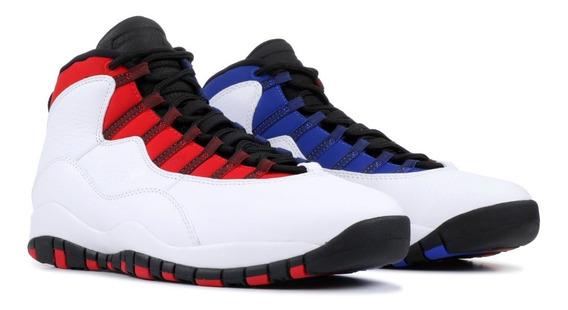 Nuevas!! Zapatillas Basket Air Jordan 10 Retro Originales