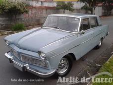Aero Willys 26000 1965 Espetacular Ateliê Do Carro -vendido