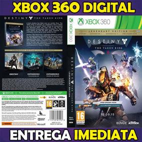 Destiny Ed Premium + Todas Dlcs Grátis Digital Xbox 360