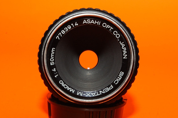 Lente Pentax K Macro 50mm F4