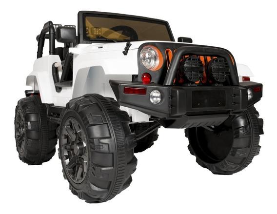 Auto A Bateria Jeep Kiddy 12v Musica Luz Mp3 Control Cuotas