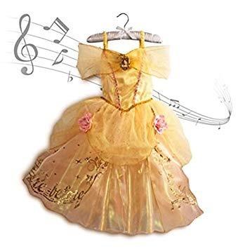 Vestido Fantasia Bela E A Fera Original Disney