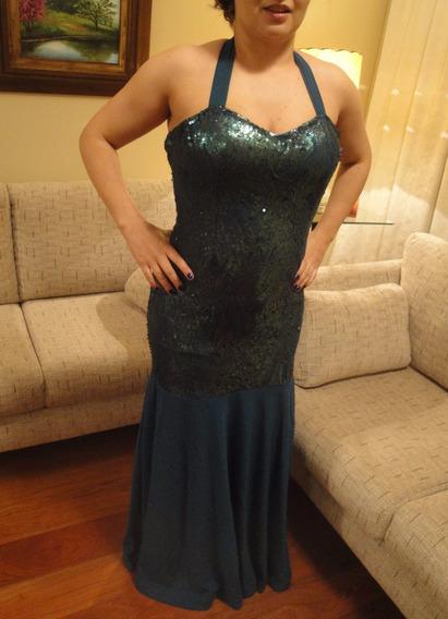 Vestido Sereia Longo Luxo Festa Formatura Casamento Eventos