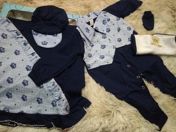 Promoção Saída Maternidade Roupa Para Bebe Menino