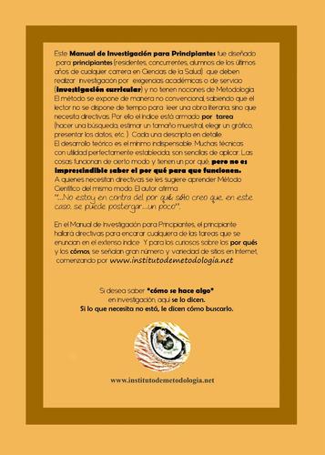 Metodología De La Investigación: Manual Para Principiantes
