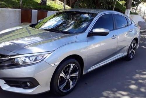 Honda Civic 2017 Sedan Prata 2.0 Ex  Personalizado