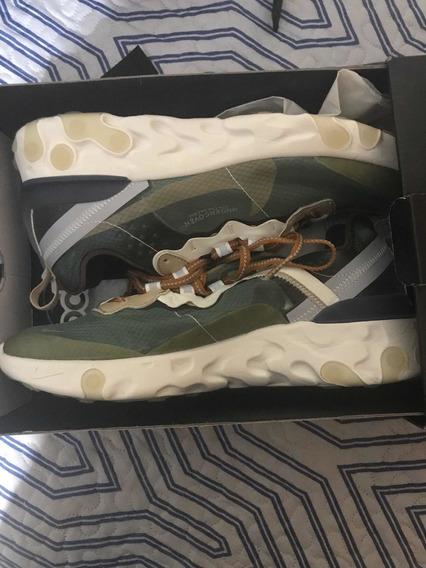 Undercover X Nike React Element 87 Green Mist 40 Rp 1 Linha