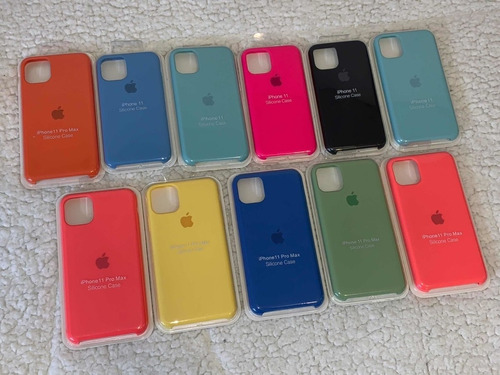 Case Silicona Para iPhone X/xr/xs Max/11/11pro/11pro Max