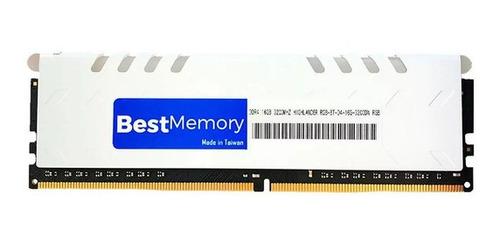 Imagem 1 de 2 de Memória Ram Best Memory Ddr4 3000mhz 16gb Bt-d4-16g-3000d