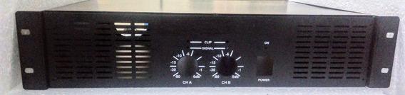 Gabinete Caixa Para Amplificador/ Potência De 300w A 3000w