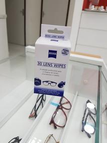 Limpador De Lentes Zeiss Lens Wipes 30 Unidades