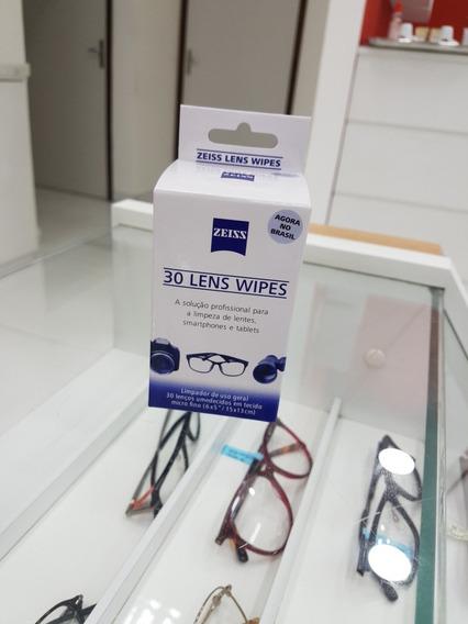 Lenços Umedecidos Limpa Lentes Zeiss Lens Wipes 30 Unid