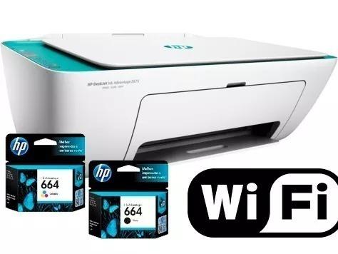 Impressora Multifuncional Hp 2675 Wi-fi Sem Fioimp.cop.scane