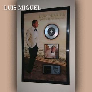 Cuadro Decorativo Luis Miguel México Por Siempre