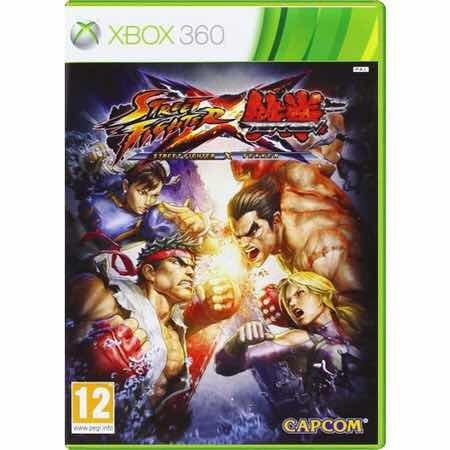 Street Fighter X Tekken Semi-novo Xbox 360