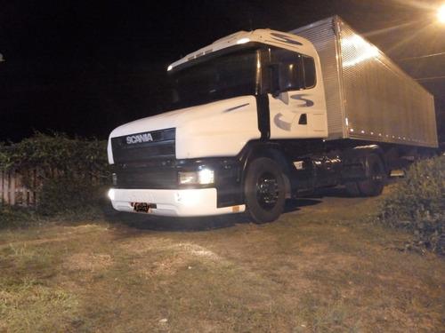 Vendo  Scania T124 420 + Bau Guerra (veja Descrição)