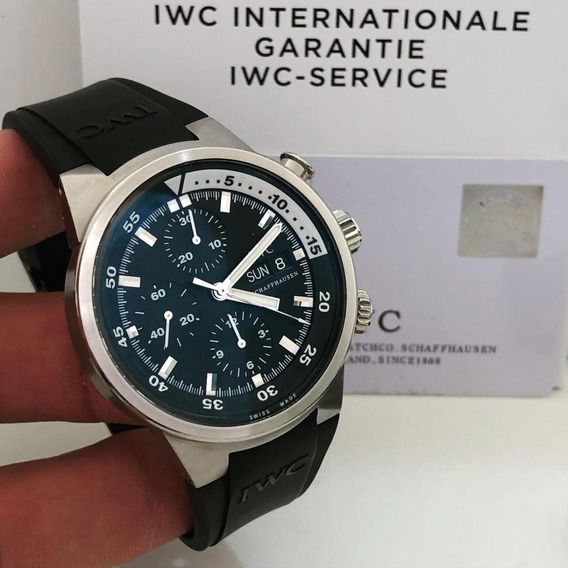 Iwc Aquatimer Chronograph First Generation 42mm Completo
