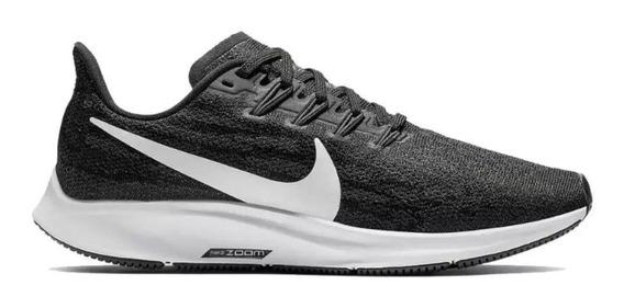 Tênis Nike Air Zoom Pegasus 36 Preto E Branco