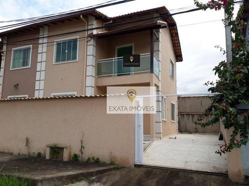 Imagem 1 de 22 de Casa 03 Quartos Próxima Ao Centro De Rio Das Ostras. - Ca1046