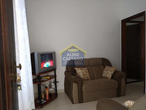 Casa - 2 Dorms, Caiçara, Praia Grande - R$ 450 Mil - Vact1205