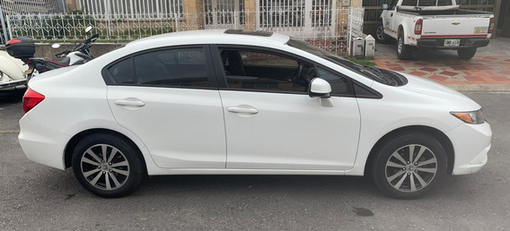 Honda Civic Ex L , Full Equipo 2012