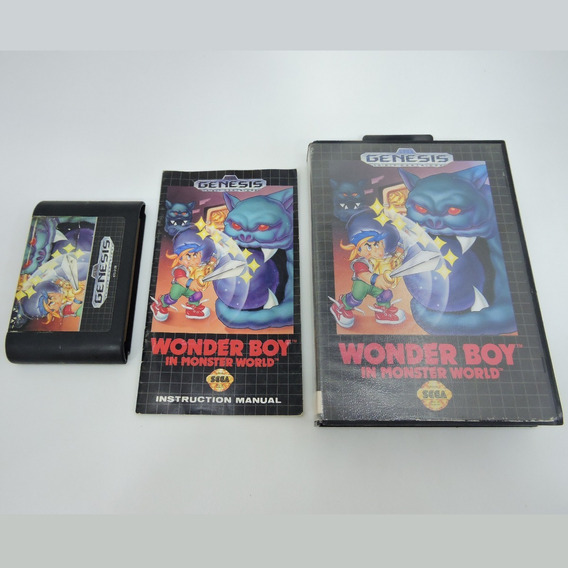 Wonder Boy In Monster World Original Completo Mega Drive