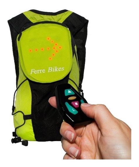 Mochila Con Señaletica De Transito Digital - Ferre Bikes