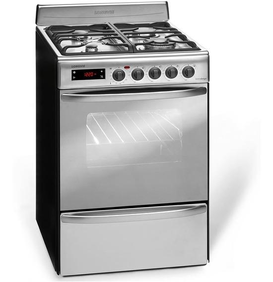 Cocina Multigas Longvie 21501x 4 Hornallas 56cm Tio Musa
