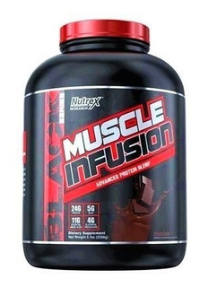 Muscle Infusion Nutrex 2,2 Kg Whey Protein Low Fat Importado