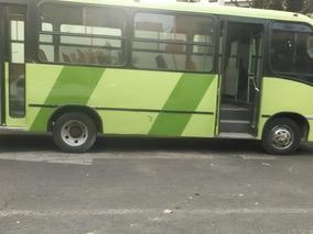 Midibus 29 Asientos De Tela 4 Cilindros, Financiado Sin Buró