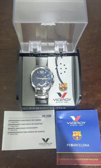 Relógio Viceroy Comemorativo Do Barcelona. Edição Limitada.