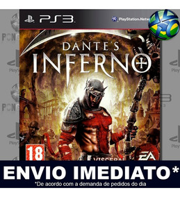 Dantes Inferno Ps3 Código Psn Promoção
