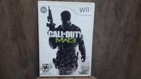 Call Of Dutty Modern Warfare 3 Nintendo Wii Original