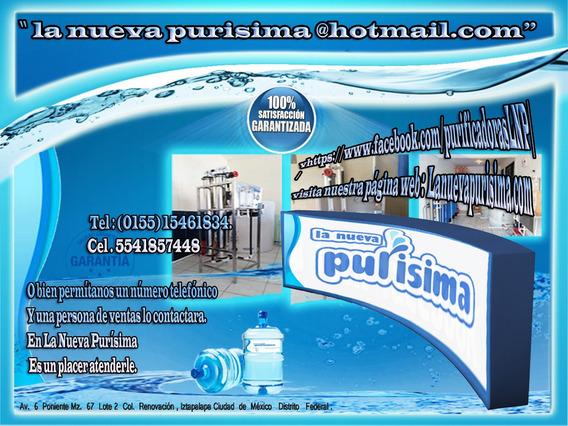 Planta Purificadora De Agua $29,500.00 Sin Anticipos