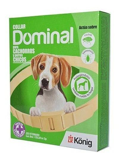 Collar Antipulgas Perro Dominal Cachorros Y Razas Chicas