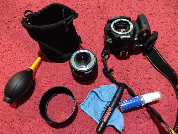 Nikon D5300 Com Lente Nikkor 50mm 1.8g