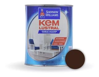Kem Lustral Esmalte Sintetico Color X 1lt Sherwin Williams - Prestigio