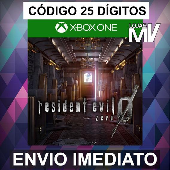 Resident Evil 0 - Codigo 25 Digitos Xbox One